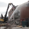 High Reach Demolition of Parking Garage