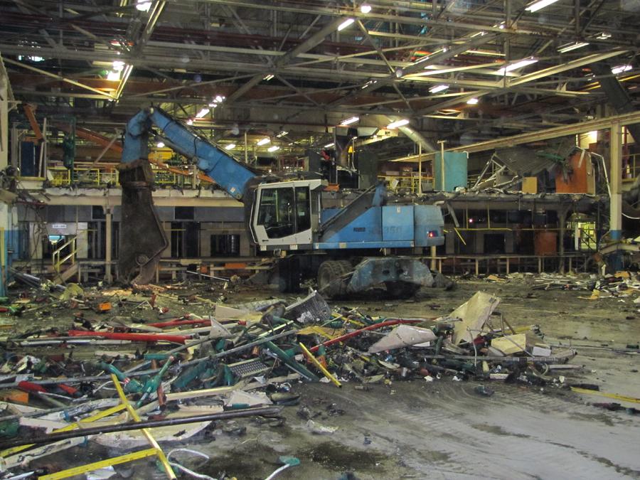 selective and interior demolition klenck company